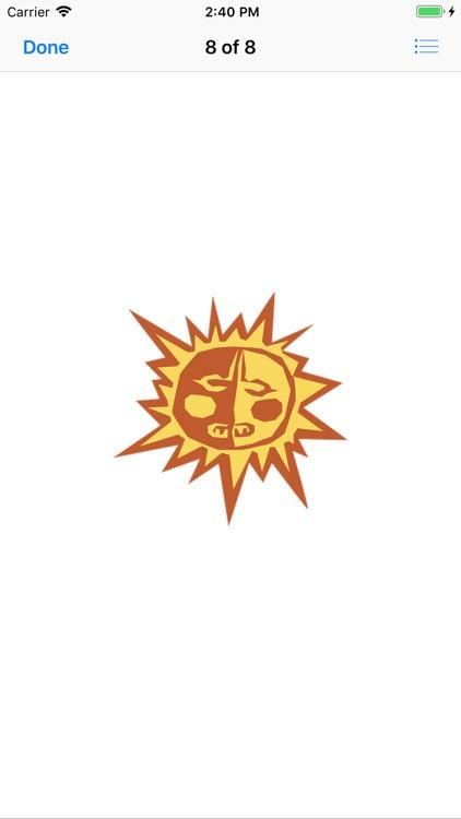 Sunny Sun Stickers screenshot-8