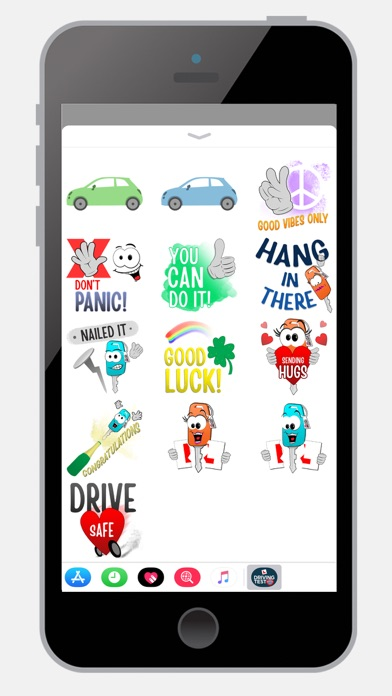 Learn to Drive Sticker Pack screenshot four
