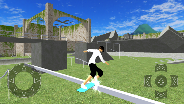 Board Skate, game for IOS
