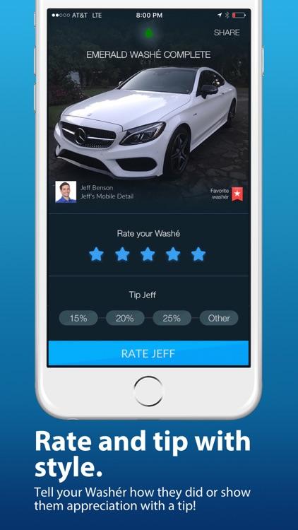 Washe - Car Washes Delivered screenshot-3