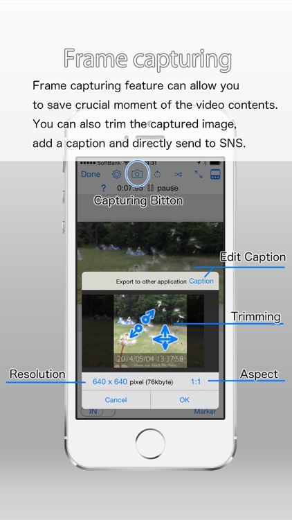 Touch The Video - Fully featured video player screenshot-4