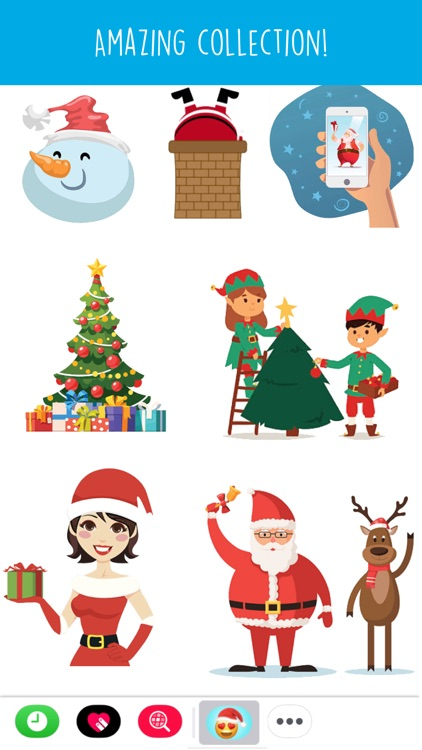 Holiday Emoji Stickers screenshot-4