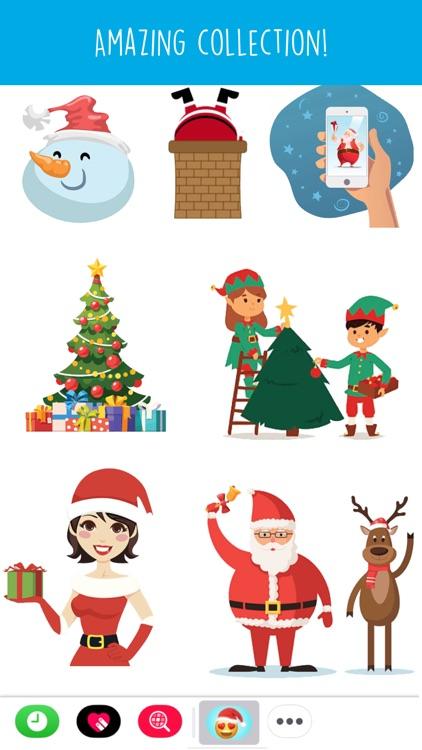 Holiday Emoji Stickers screenshot-4