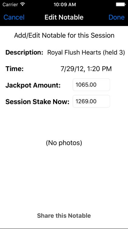 Gamble Diary screenshot-3