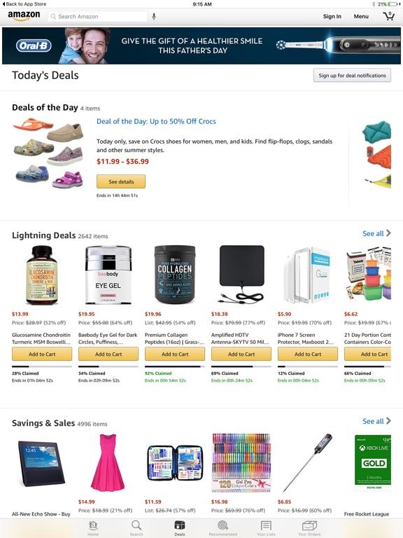 Screenshot #2 for Amazon - Shopping made easy