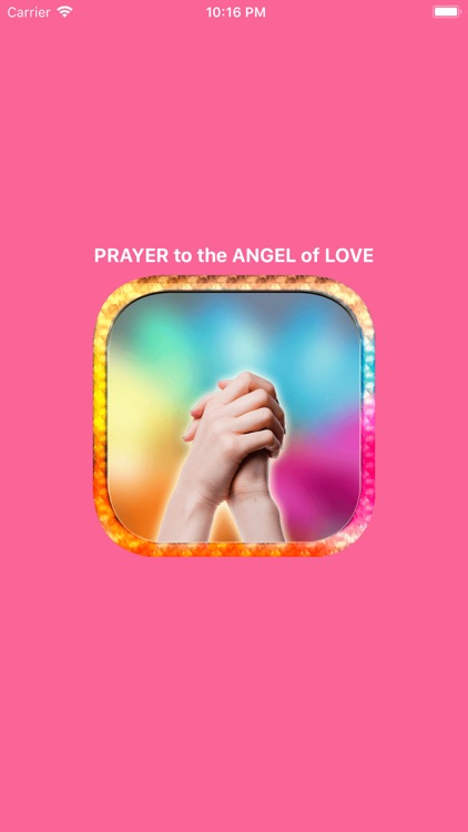 PRAYER To The ANGEL Of LOVE