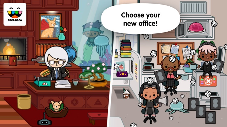 Toca Life: Office screenshot-0