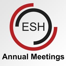ESH Annual Meetings