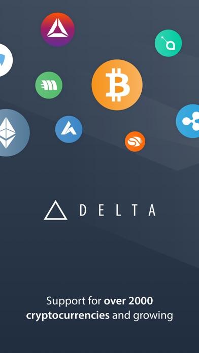 Delta Crypto Portfolio Trackerスクリーンショット
