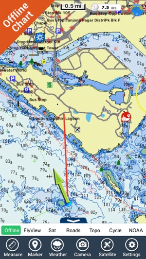 Singapore gps charts offline maps navigator on the app store gumiabroncs Image collections