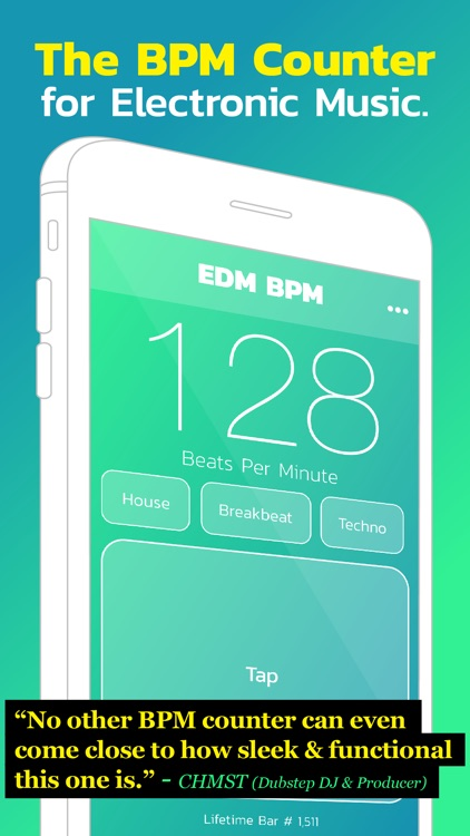 EDM BPM - BPM Counter for Electronic Dance Music