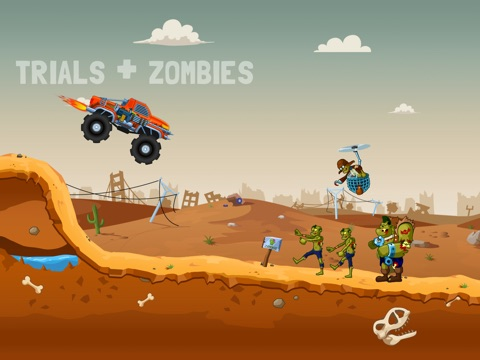 Zombie Road Trip Trials на iPad