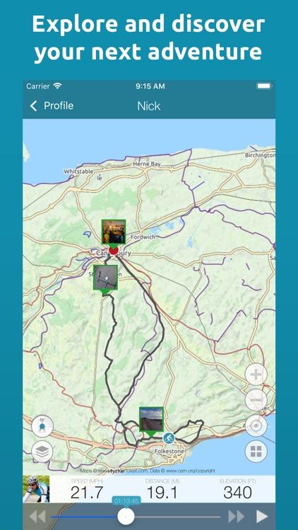 Map My Tracks Walking screenshot-4