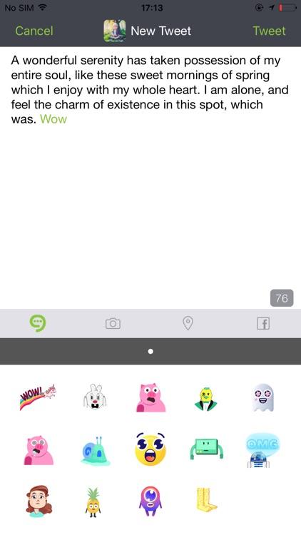 UberSocial screenshot-3