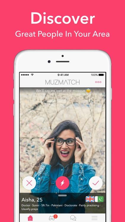 Single Muslim dating app: muzmatch