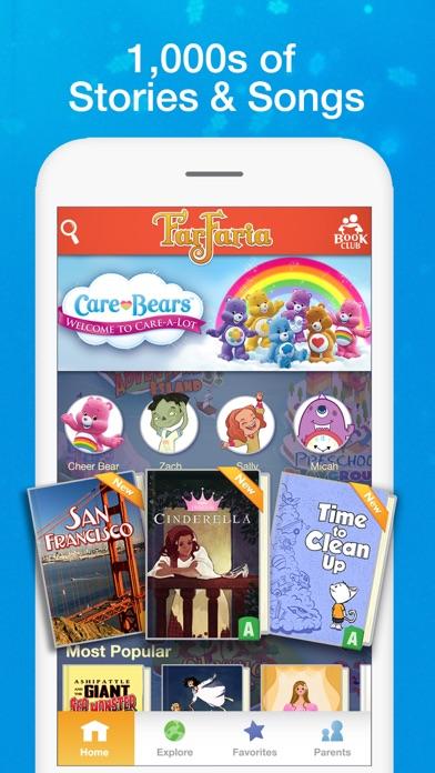 Farfaria Read Aloud Kids Books review screenshots