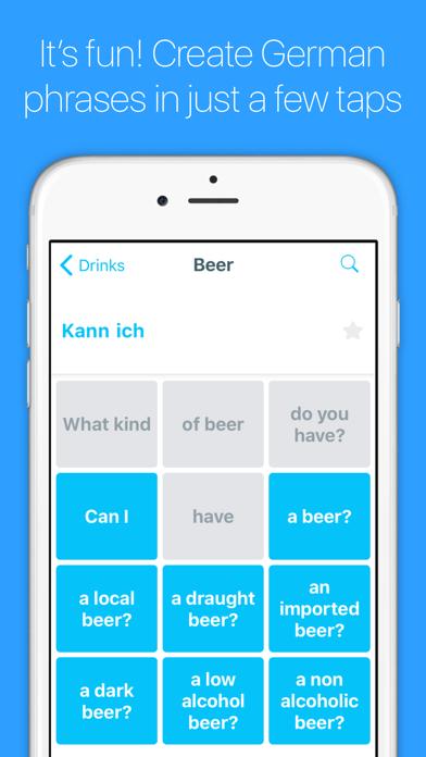 English to German Translator screenshot one