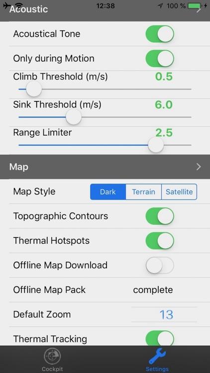 eVario - Variometer Paraglider screenshot-5