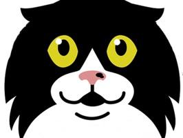 eatdrinkcat Kitty Stickers