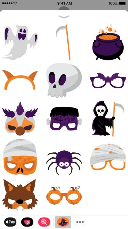 Halloween iMessage Stickers