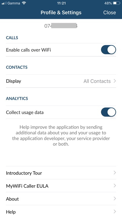 MyWiFi Caller screenshot-7