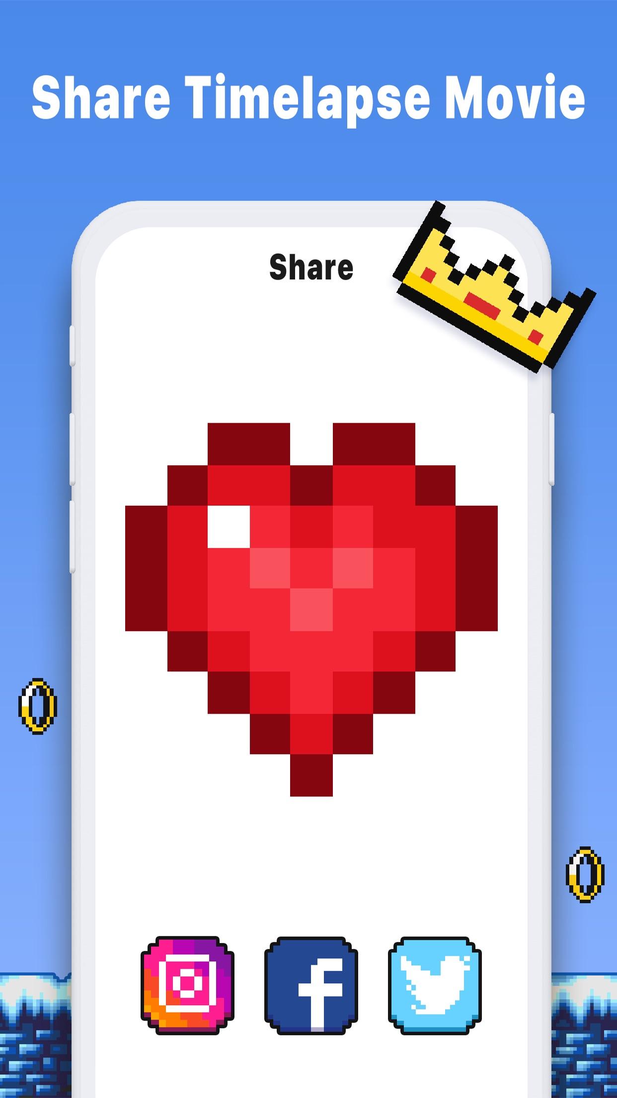 Pixel Art Book - Coloring Game Screenshot