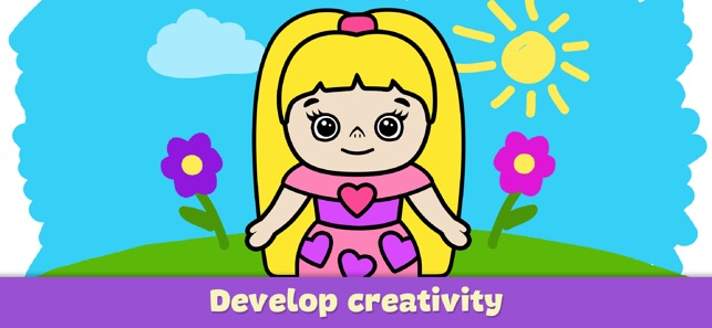 Baby Coloring Book For Kids 2 On The App Store