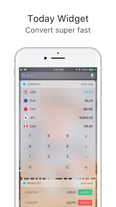 Screenshot for Currency converter & Exchange in Hong Kong App Store