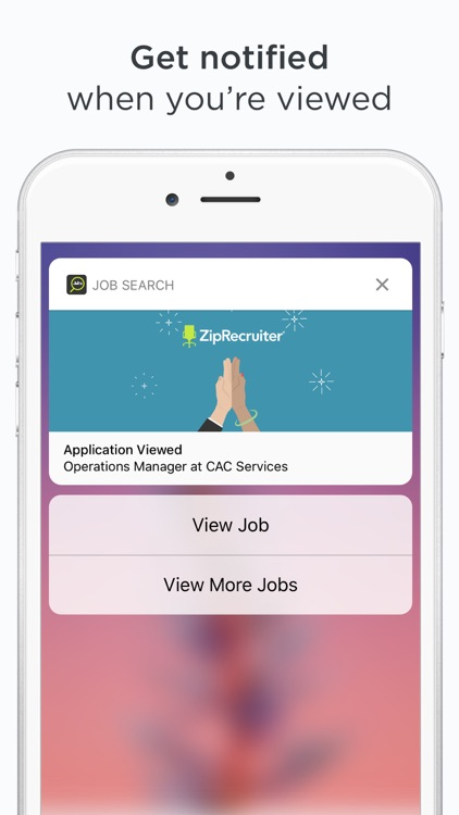ZipRecruiter Job Search screenshot-4
