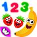 85.趣味食物3 少儿童游戏幼儿园婴儿早教育2-5岁宝宝学数字