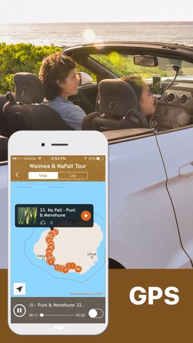Kauai Driving Tour Road Trips Screenshot