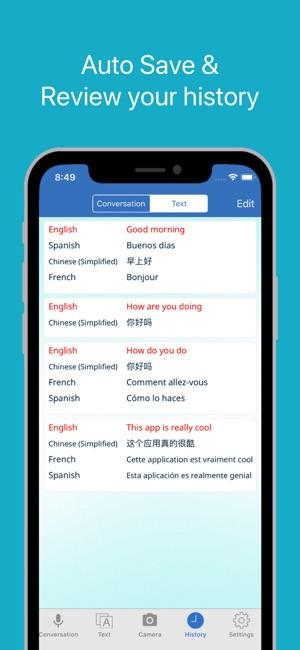 Multi Translate Voice Screenshot