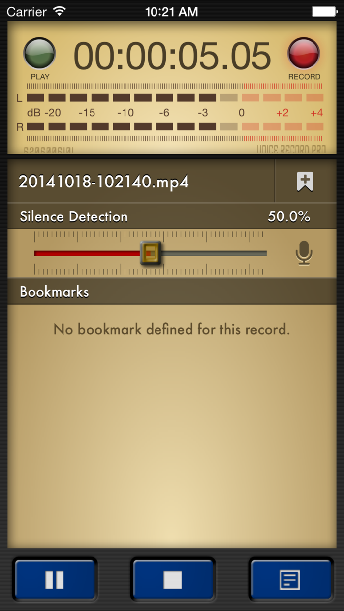 Voice Record Pro Screenshot