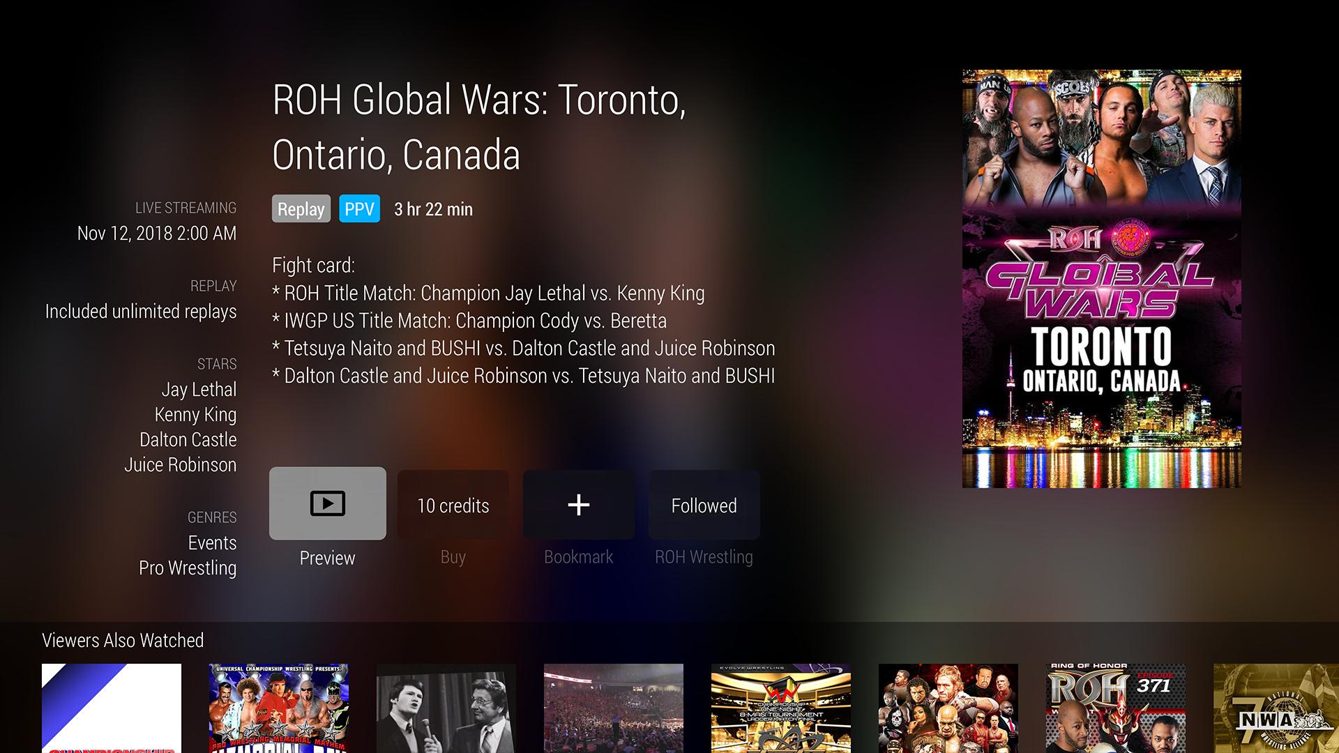FITE - Boxing, Wrestling, MMA screenshot 13