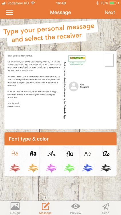 Postando – Postcard App screenshot-3