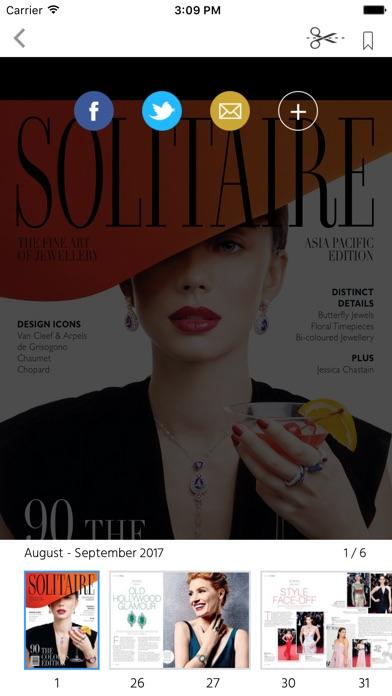 Solitaire Magazine screenshot 2