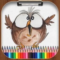 Drawing Pad, Doodle Paint Art
