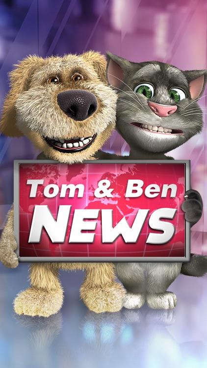 Talking Tom & Ben News screenshot-0