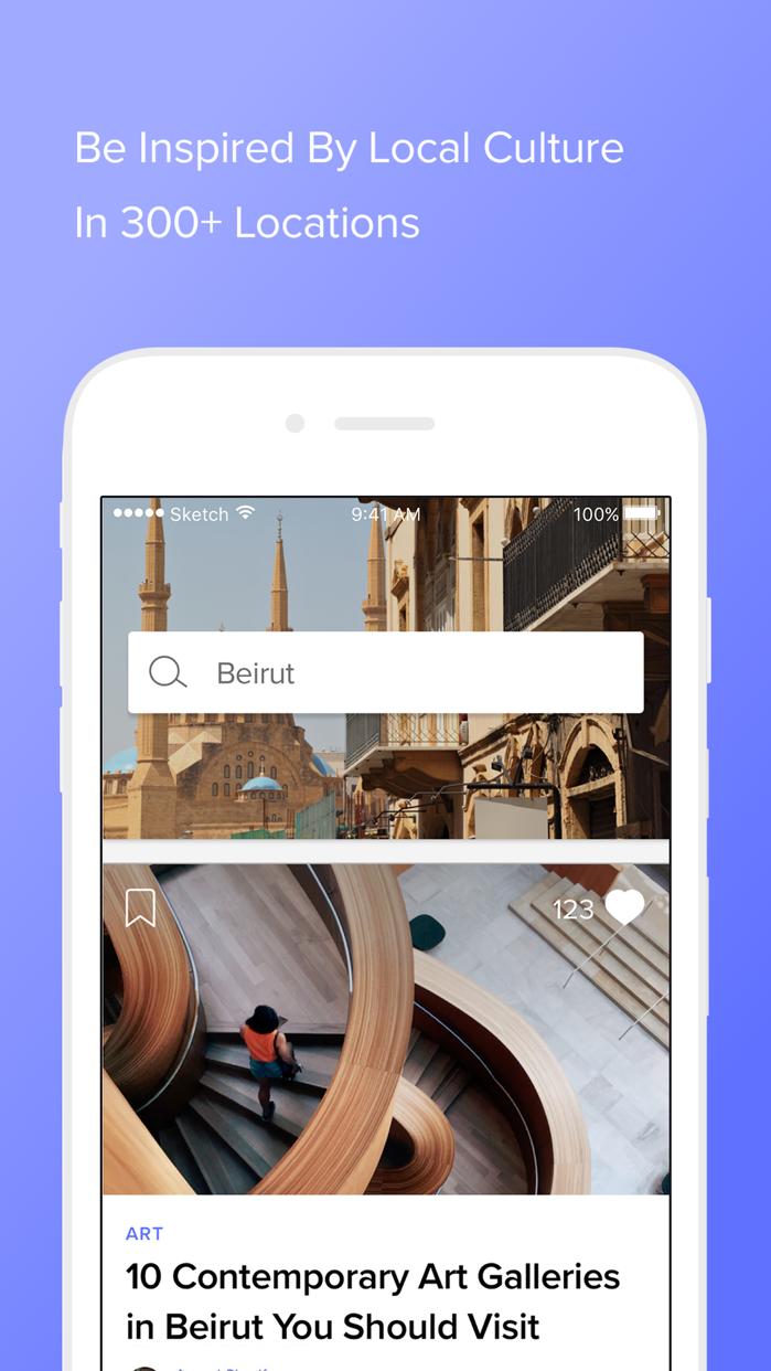 Culture Trip: Explore & Travel Screenshot