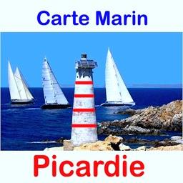 Marine: Picardie - GPS Map Navigator
