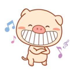 Piggy Pig Sticker
