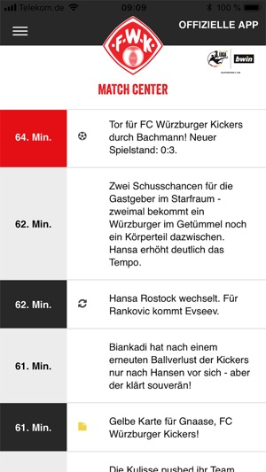 Fc Würzburger Kickers On The App Store