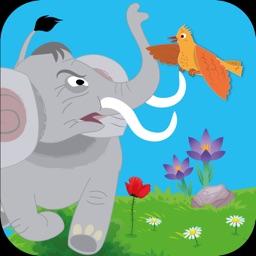 قصص اطفال: القبرة والفيل