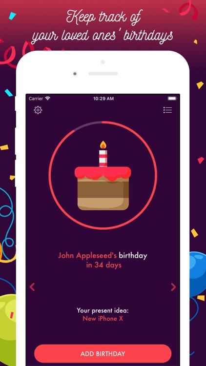 Birthday Countdown Timer screenshot-0