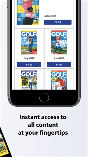 how to put music on an iphone golf monthly magazine on the app 20198