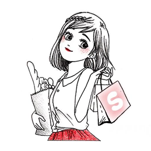 Sketchy Girl in Love