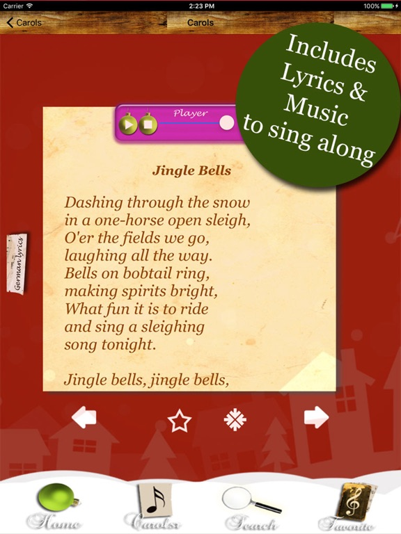 Christmas Carols SING WITH US screenshot 7