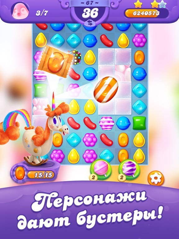 Скачать игру Candy Crush Friends Saga