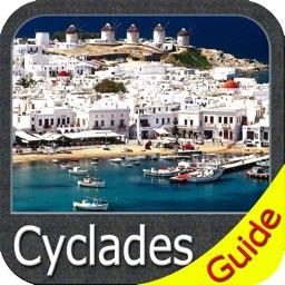 Cyclades charts GPS maps Navigator