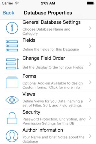 HanDBase Database Manager screenshot 4